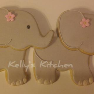 "Cute ""little"" elephants"