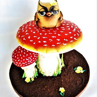 MUSHROOM OWL