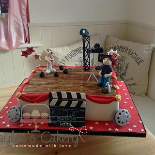 Movie/Animation themed cake
