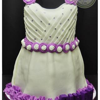 Baby Dress Cake