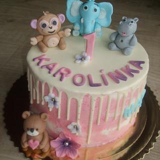 B-day cake - Cake by Vebi cakes
