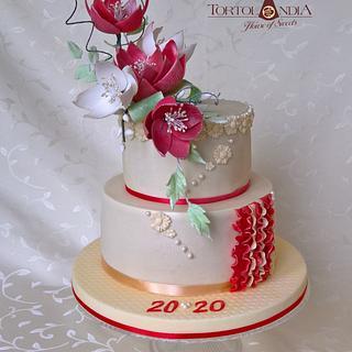 40th Birthday Cake - Cake by Tortolandia