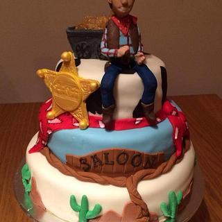 Western cake - Cake by Embellishcandc