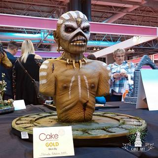 Mayan Eddie - Gold winning cake at Birmingham 2016