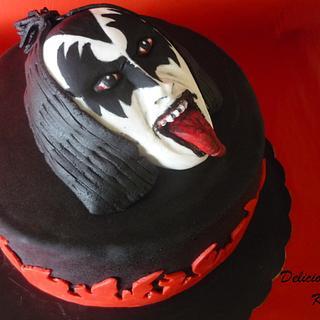 Gene Simmons (KISS) cake - Cake by Emily's Bakery