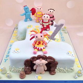 In the Night Garden birthday cake - Cake by Yvonne Beesley