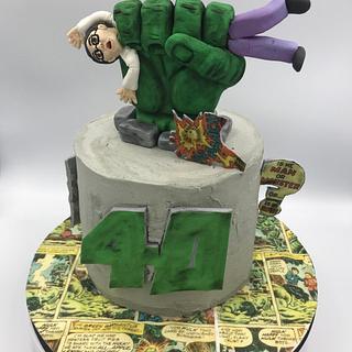 Hulk - Cake by Emmascakeshk