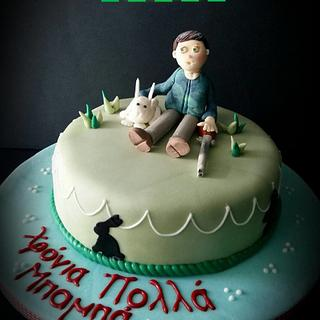 Hunter Cake - Cake by LiliaCakes