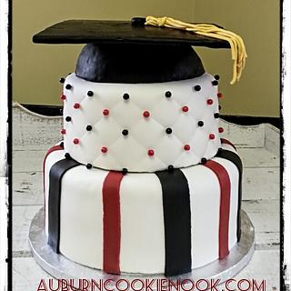 Graduation Cake - Cake by Cookie Nook