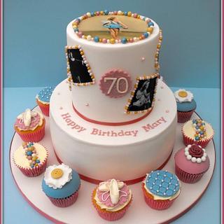 70th Birthday Cake - Cake by Gill W