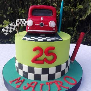 Fiat 600 cakes
