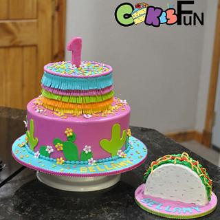 Fiesta Cake - Cake by Cakes For Fun