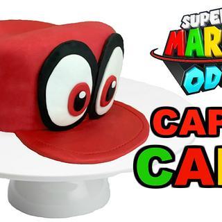 MARIO ODYSSEY 'CAPPY' CAKE!