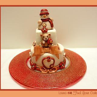 Christmas Thun Cake