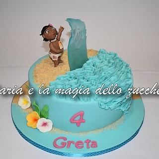 Baby Moana cake - Cake by Daria Albanese