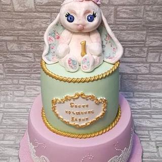 Christening cake - Cake by Rositsa Lipovanska