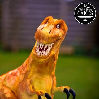 T.Rex Dinosaur cake