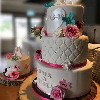 Spring is in the air collaboration 2018 - Wedding Cake