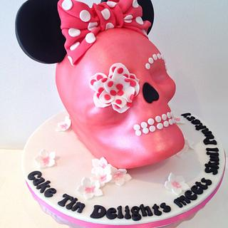 Minnie Mouse skull