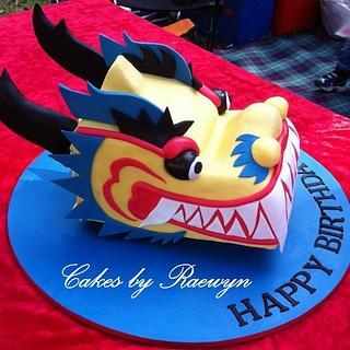 Dragon Boat head for Mark