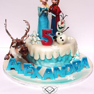 Fozen cake...