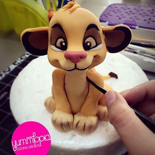 Simba - Cake by Yolkin Navarro