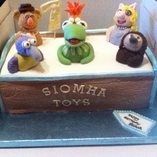 Muppets Toy Box cake - Cake by Toni Lally