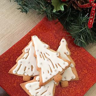 Orange zest cinnamon holiday cookies