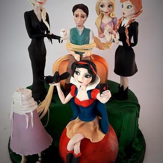 halloween's princess - Cake by Carmela Iadicicco (torte con brio)