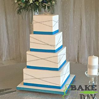Square deal - Cake by Bake My Day Acadiana