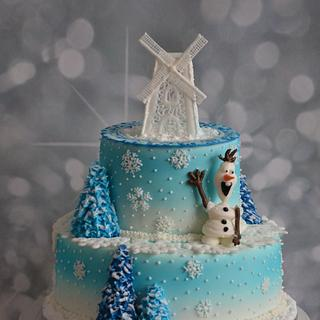 icing olaf and mill