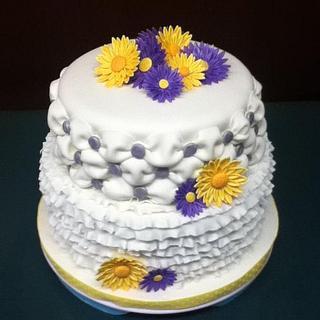 Ruffles!! - Cake by Cassandrascakes