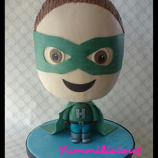 Super Harry Bobblehead Cake