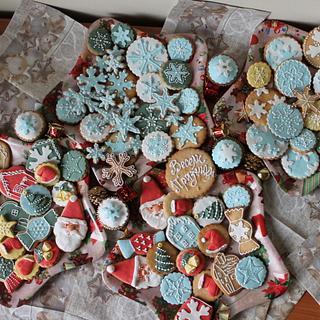 Christmas cookies - Cake by Marina