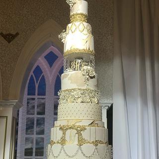 White & Ivory - Cake by MsTreatz