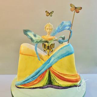Queen of the Butterflies - Dali in Sugar