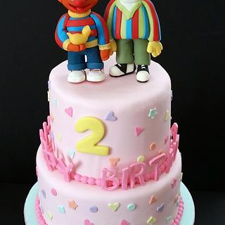 Ernie and Bert/Sesame Street Cake
