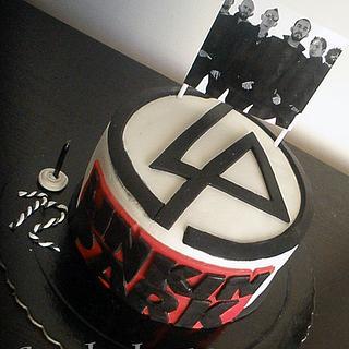 Linkin Park B'Day Cake
