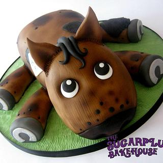 Cute Horse Cake - Cake by Sam Harrison