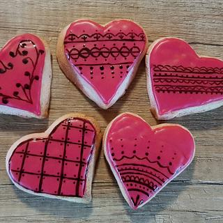 Hearts - Cake by Alice