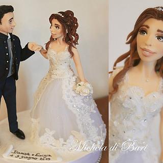 Wedding topper ❤️ - Cake by Michela di Bari