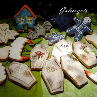 Halloween cookies - Cake by Gardenia (Galecuquis)