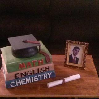 Graduation - Cake by Sharon Cooper