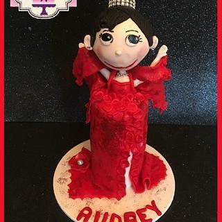 Audrey Hepburn Cake Collaboration 2016 - Cake by  SpecialT Cakes - Tracie Callum