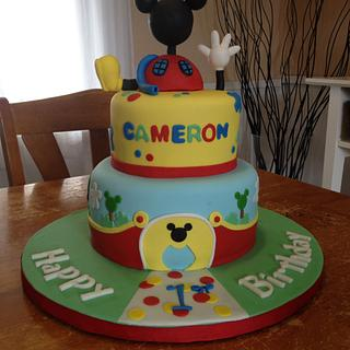Mickey Mouse Clubhouse  - Cake by Emily Foley