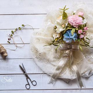 My wedding bouquet - Cake by Veronica Seta