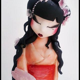 Geisha  - Cake by Time for Tiffin