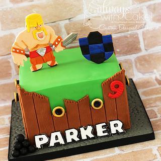 Clash of Clans Cake - Cake by AlwaysWithCake