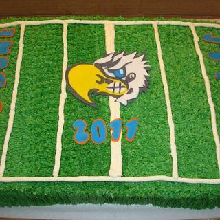 Tbird end of season cake