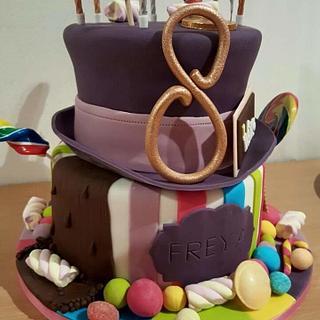 Willy wonky chocolate cake - Cake by Rachel Nickson